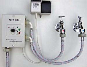 alfa mix vorschaltger t f r die waschmaschine alfamix. Black Bedroom Furniture Sets. Home Design Ideas
